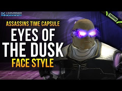 "DCUO: ""Eyes of the Dusk"" Face Style 