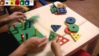 01022# Bomik Геометрик 4 фігури (Маша 4 м, Марк 3.5 м)