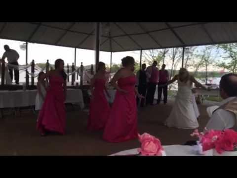 Heather & Michael bridal party dance