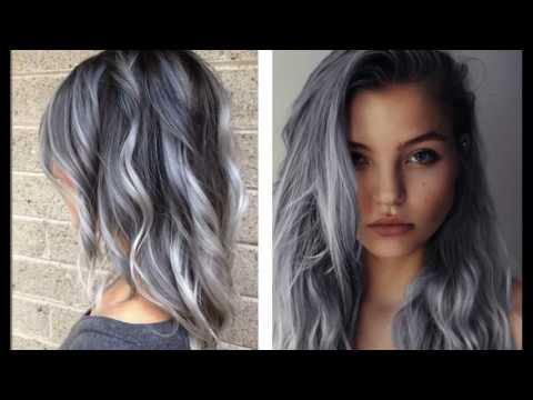 Funky grey hair short haircuts