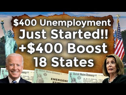 APPROVED!! 18 STATES $400 UNEMPLOYMENT BENEFITS EXTENSION UPDATE MEUC Mixed Earners PEUC FPUC BOOST
