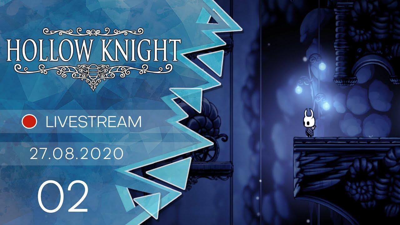 Hollow Knight [Livestream/Blind] - #02 -Ein bisschen erkunden