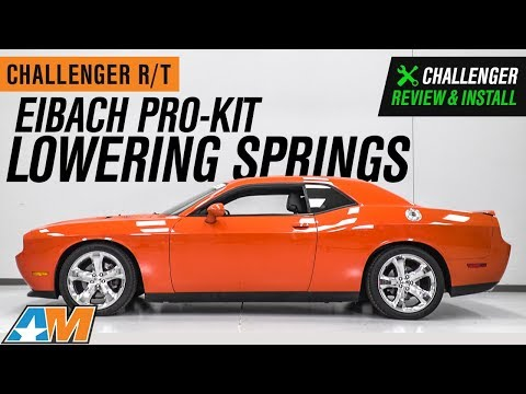 2011-2019-challenger-r/t-eibach-pro-kit-lowering-springs-review-&-install
