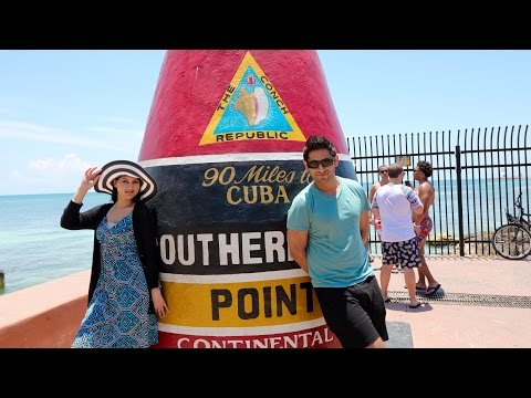 THINGS TO DO IN KEY WEST FLORIDA |  SOUTHERNMOST POINT | DUVAL STREET