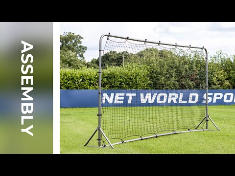 How To: Assemble FORZA Football Rebound Wall 12 X 6 | Net World Sports