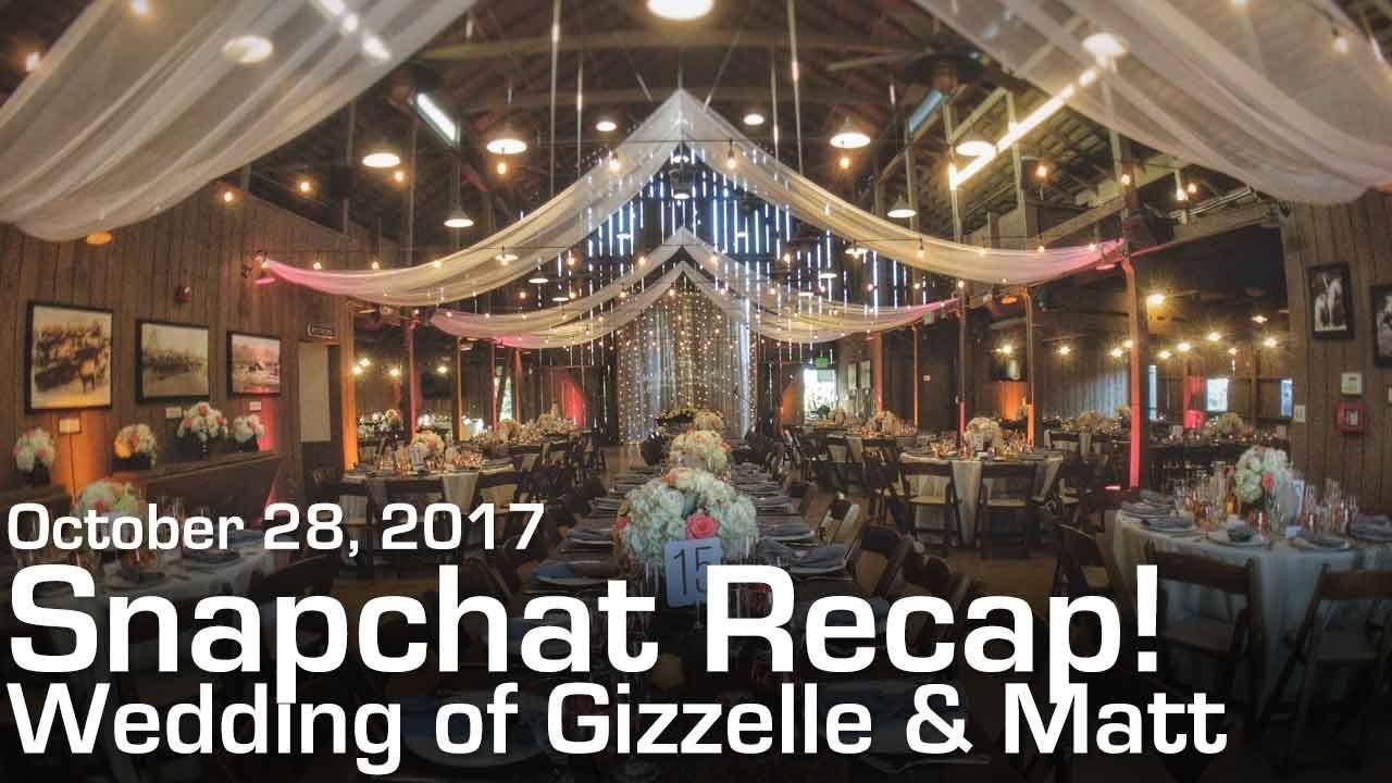 Snapchat Log 2 Camarillo Ranch House Wedding Highlights Dj S