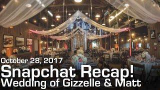 Snapchat Log #2 - Camarillo Ranch House Wedding Highlights! (DJ's Snapchat)