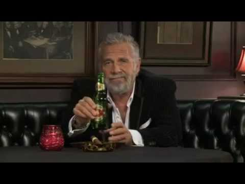 World's Most Interesting Man's New Years Toast