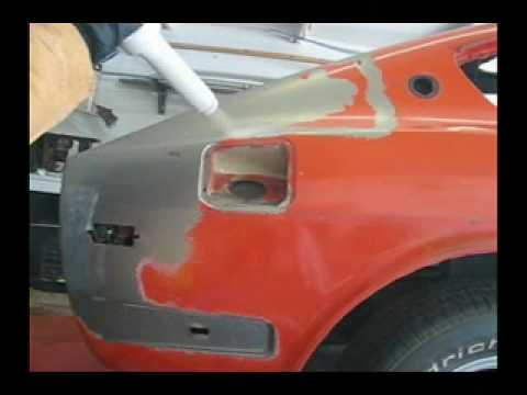 Auto Paint Removal With Dry Ice Blasting