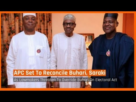 Nigeria News Today: Electoral Bill: APC Set To Reconcile President Buhari, Saraki (19/03/2018)