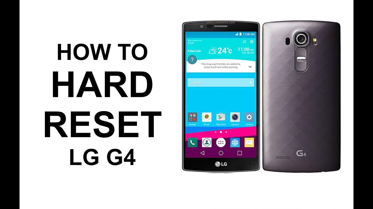 Lg Track Phone Hard Reset - 3 Methods to Hard/Factory Reset