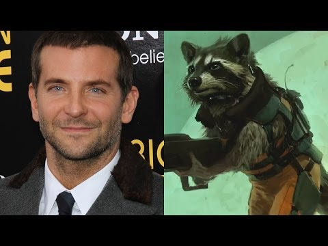 Bradley Cooper Talks Voicing Rocket Raccoon