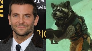 Bradley Cooper Talks Voicing Rocket Raccoon