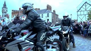 Bikers in Darlington pay tribute to the legendary Jungle (2).