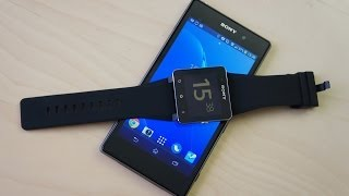 обзор умных часов Sony SmartWatch2 (SSW2)