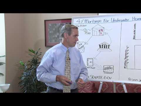 Senator Jeff Merkley Announces New Plan to Help Underwater Homeowners