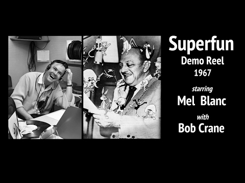 Superfun Demo Reel (1967) | Starring Mel Blanc, with Bob Crane