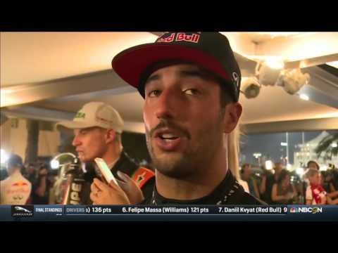 2015 Abu Dhabi - Post-Race: Daniel Ricciardo a 'more complete driver' after this F1 season
