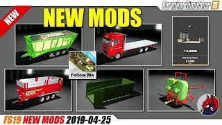 "[""BEAST"", ""Simulators"", ""Review"", ""Timelapse"", ""Let'sPlay"", ""FarmingSimulator19"", ""FS19"", ""FS19ModReview"", ""FS19ModsReview"", ""fs19 mods"", ""fs19 Follow Me"", ""Washing Station"", ""MAN TGS Flatbed"", ""Krone TX 460D"", ""Vaia NL28"", ""Lizard Container"", ""KFMR Kruko"