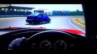 cc trueno ae86 vs supra a70 vs monaro gto tsukuba circuit 5 laps battle b500 class forza 4