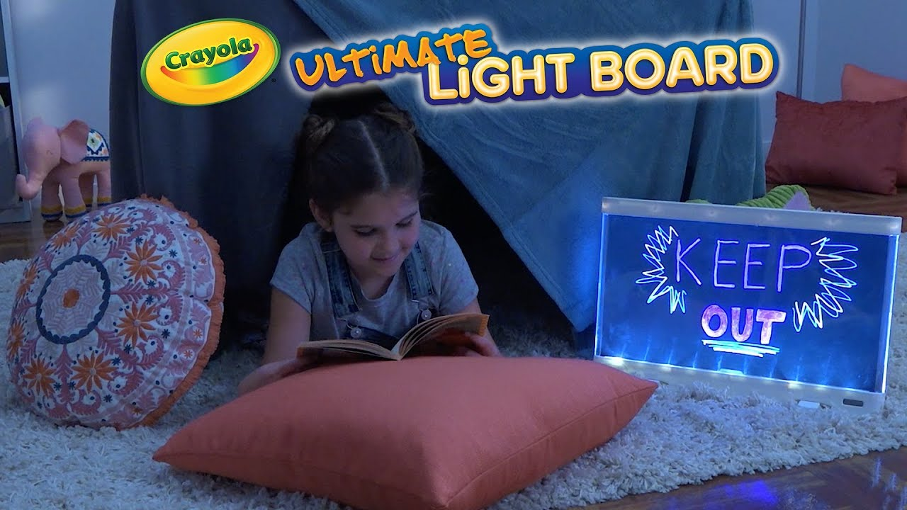 NEW Crayola Ultimate Light Board || Crayola Product Demo