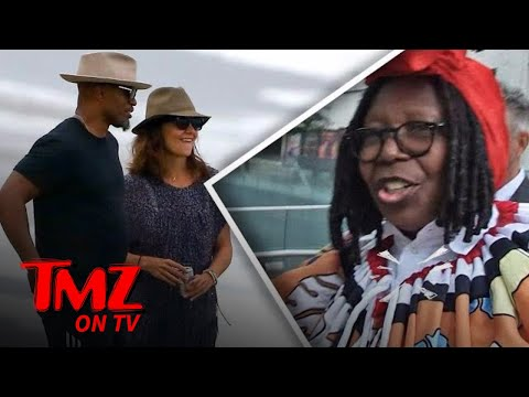 Jamie Fox And Katie Holmes Are Together…And Whoopi Could Care Less | TMZ TV