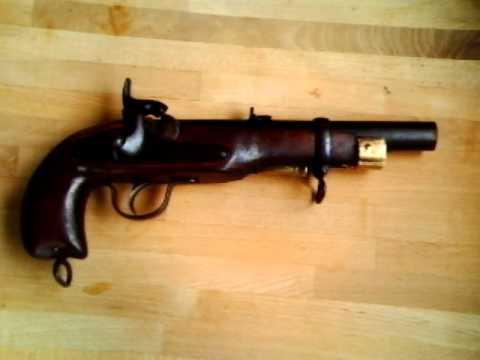 Enfield rifled musket als Umbau.