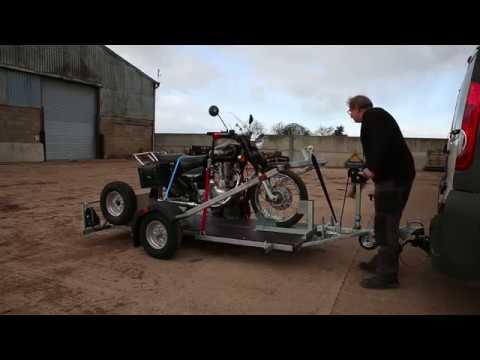 CMF Easyload Motorcycle Trailer