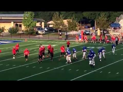 Piedmont v Heflin Middle School 9.19.16   Piedmont 34 Heflin 12