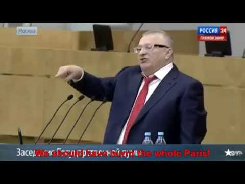 Russian Parliament: Germany and Paris Should Have Been Destroyed. (English).