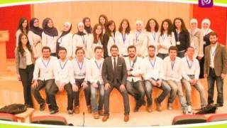 أسيل أبو شنب ومنى السكر - المؤتمر الأول لمؤسسة المهندسين الصناعيين