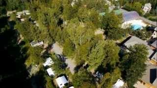 VUES AERIENNES Yelloh Village l'Etoile des Neiges**** Montclar