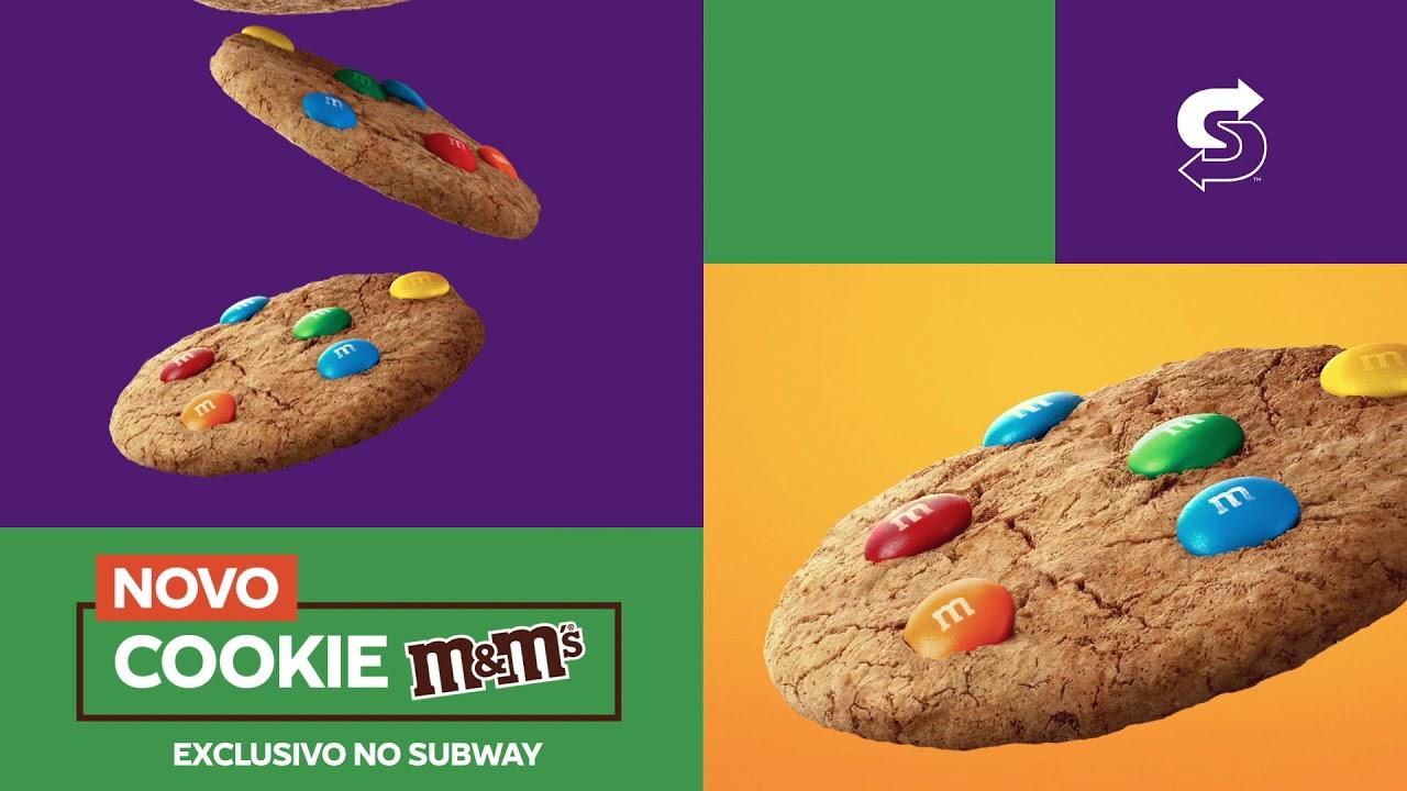 Novo Cookie M&M's Subway