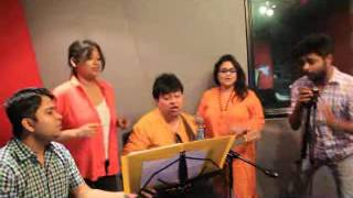 JEET GANNGULI SINGING JAYA TOMARI WITH FEVER FM RJ - SAYAN - MANALI - JINIA