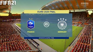 FIFA 21 France vs Germany Euro 2020 Final Full Match Gameplay