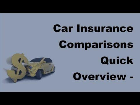Car Insurance Comparisons Quick Overview  -  2017 Compare Car Insurance