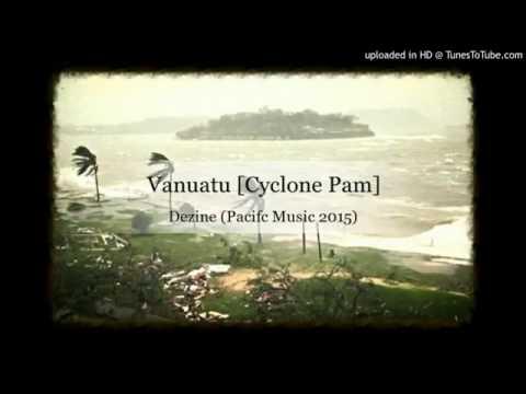 "Dezine ""Vanuatu cyclone Pam"""