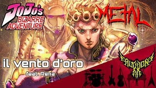 JoJo's Bizarre Adventure: Golden Wind - il vento d'oro (feat. Rena) 【Intense Symphonic Metal Cover】