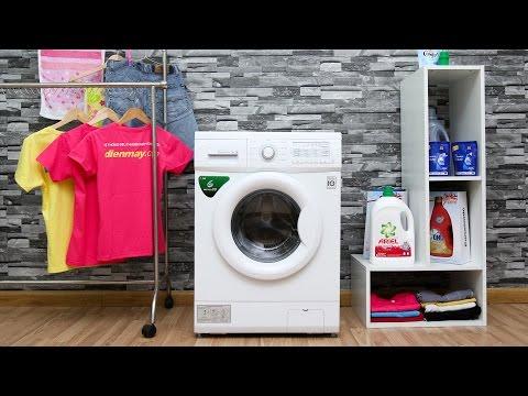 Đánh giá máy giặt LG WD - 8600  - Chiếc máy giặt cửa trước giá rẻ với nhiều tiện ích cao cấp