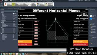 Sling Tension Calculations Exaṁple 03