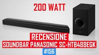 Recensione Soundbar Panasonic SC-HTB488