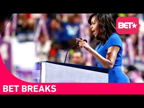 Michelle Obama's Epic Speech At The DNC