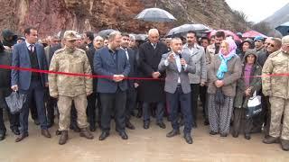 Vali/Belediye Başkan V. Tuncay Sonel, 30 Yıllık Köprü Özlemini Giderdi