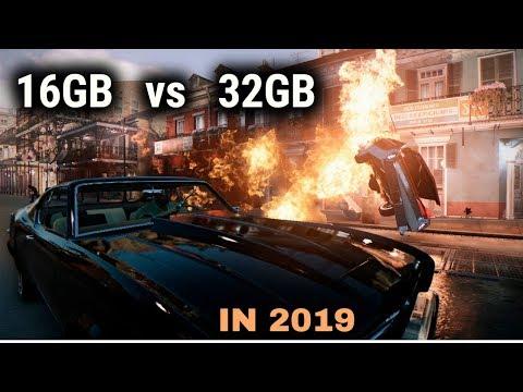 32GB Vs 16GB RAM Gaming Performance | 2019