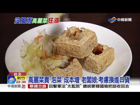 高麗菜價漲! 賣場一顆68元批發價飆至32.7元│中視新聞 20190420