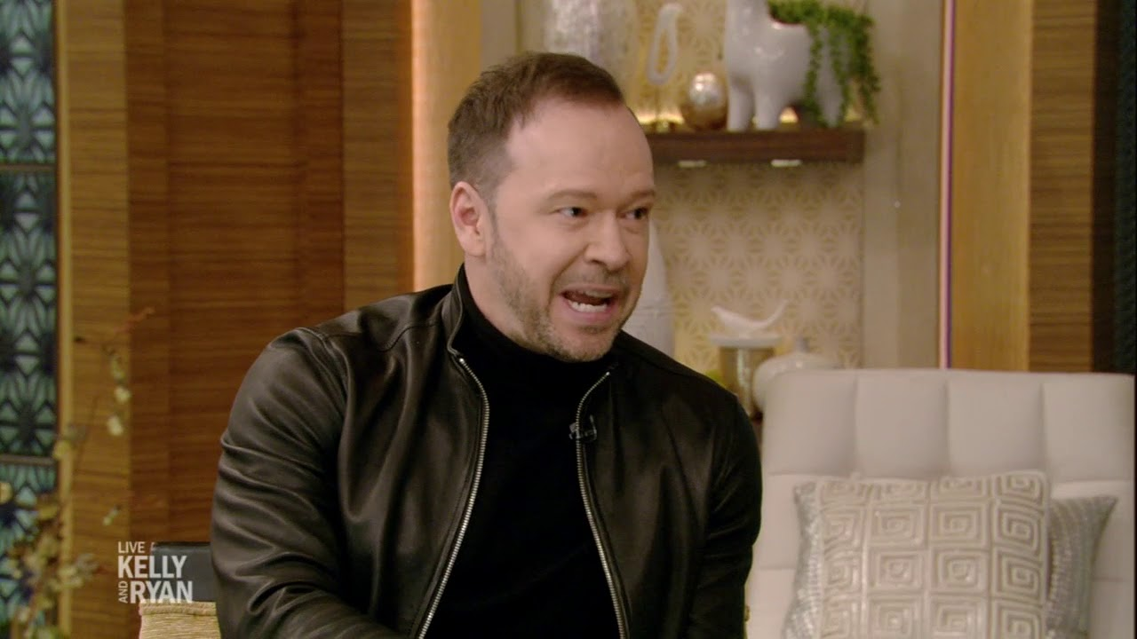 Donnie Wahlberg Talks About Watching the Patriots Win the Super Bowl with His Son image