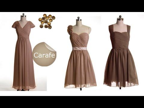 Top 100 beautiful brown maxi dress - Formal dresses for women - YouTube