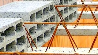 Budowa domu, strop, Full HD, Film 14 Strop, belki i pustaki teriva