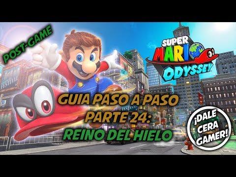 Super Mario Odyssey - Guía Paso a Paso #24 (100%) (Post-Game) - Reino del hielo