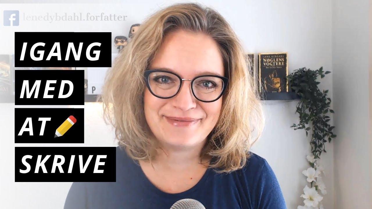 7 tips til at komme i gang med at skrive